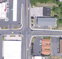 Aerial photograph of US 95/Styner Avenue/Lauder Avenue